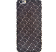 Wavy HD Pattern Embossed Acrylic Material TPU Phone Case For iPhone 7 7 Plus 6s 6 Plus