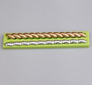 2 формы полости формы формы силикона для инструментов украшения украшения торта цвет случайный