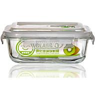 Heat resistant tempered glass bowl crisper preservation bowl