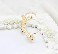 SS204 Korean Fashion Pearl Earring Without Pierced Ears Hang Earrings