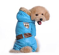Military Style Jacket with Hoodie for Pets Dogs (Assorted Sizes and Colours)