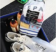 Caixas de Armazenamento / Sacos de Armazenamento Plástico com 收纳袋 , Característica é Viagem , Para Jóias / Sapatos / Roupa-Interior