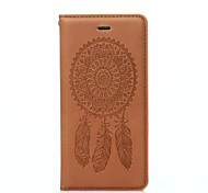 Wind Chime Pattern PU Leather Material Automatic Pick-up Full Body Case with for iPhone 7 6S/6 plus 6S/6 SE/5S/5