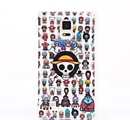 мягкий чехол крышка черепа TPU назад шаблон обложка для Samsung Galaxy Примечание 5 Примечание 4 примечание 3