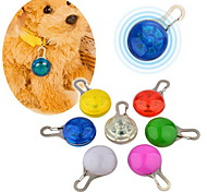 Luz LED de Clipe à Prova de Água de Segurança de Cachorros (Várias Cores)