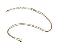 925 Silver Rose Gold Color Pendant Necklaces
