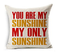 You Are My Sunshine You Are My Sunshine Cotton Linen Pillow Cushions
