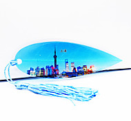 Shanghai Oriental Pearl Tv Tower In Shanghai Tourism Souvenir Vein Bookmark Send Colleagues And Friends