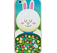 Pattern Cartoon Animal Rabbit PC Hard Case Back Cover For Apple iPhone 6s Plus/6 Plus/iPhone 6s/6/iPhone SE/5s/5