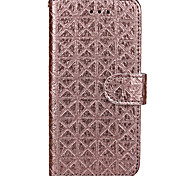 Per Custodia iPhone 7 / Custodia iPhone 7 Plus / Custodia iPhone 6 A portafoglio Custodia Integrale Custodia Geometrica Resistente