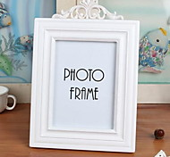 Wood Frame 7 Inch White Wooden Home Photo Frame Swing Sets For Studio