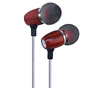 Premium Genuine Wood In-ear Noise-isolating Headphones Earbuds Earphones Rosewood Headphone Earphone Headset Earbuds