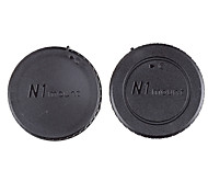 Dengpin Rear Lens Cover +Camera Body Cap for Nikon J5 J1 V1 J2 V2 J4 V3 S1 S2