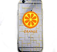 Lemon HD Pattern Embossed Acrylic Material TPU Phone Case For iPhone 7 7 Plus 6s 6 Plus