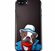 Dog Pattern High Quality  TPU Material Soft Phone Case For iPhone 7 7 Plus 6S 6Plus