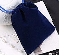 Jewelry Bags Fabric 1pc Blue