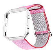 Красный / Черный / Синий / Розовый / серый Нейлон Спортивный ремешок Для Fitbit Смотреть 23мм