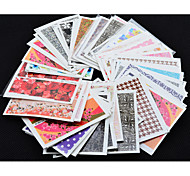 50 Nail Art Sticker  3D Nail Stickers Makeup Cosmetic Nail Art Design