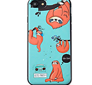 Sloth  Pattern High Quality TPU Material Soft Phone Case For iPhone 7 7 Plus 6S 6Plus