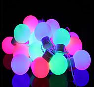 40-водить 5m водонепроницаемый штекер открытый свет украшения рождества праздник вел свет шнура