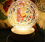 Crooked Melon Produced Cardcaptor Sakura Cardcaptor Sakura Magic Fat0Led3D Lamp Nightlights