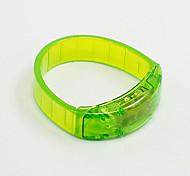 Prevenção de Ferimentos Tiras Refletoras / LEDs Corrida ABS Vermelho / Branco / Verde / Rose
