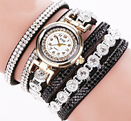 New Fashion Luxury Rhinestone Bracelet Watch Women Clock Watch Ladies Quartz Watch  Casual Women Wristwatch