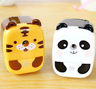 Panda Lele And Tiger Babe Sharpener Pencil Sharpener