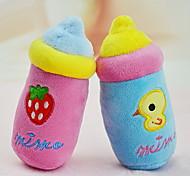 Cat / Dog Toy Pet Toys Plush Toy Squeak / Squeaking / Cartoon Plush Blue / Pink