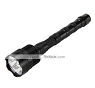 Tactical 6000LM 3X XM-L T6 LED 3T6 Flashlight Torch Light Mount Pressure Switch