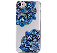 Per retro A fantasia Fiore decorativo TPU Morbido Copertura di caso per AppleiPhone 7 Plus / iPhone 7 / iPhone 6s Plus/6 Plus / iPhone