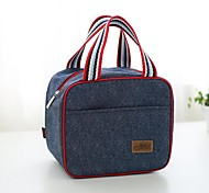 Portable Insulation Bag Hand Denim With A Meal Lunch Boxes Lunch