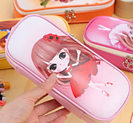 Lovely Little Girl Students Pencil Bags