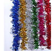 Рождественские декоративные ленты 6 шт