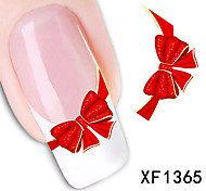 Butterfly Knot Pattern Watermark Nail Stick