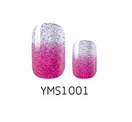 Yms Series Gradient Nail Stickers