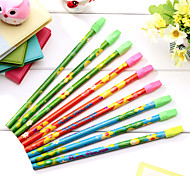 12 Torch Leather Head Pencil(12PCS)