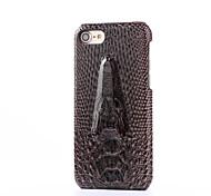 Für iPhone 7 Hülle Stoßresistent Hülle Rückseitenabdeckung Hülle Einheitliche Farbe Hart PU - Leder Apple iPhone 7