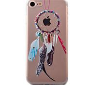 For iPhone 7 Case / iPhone 7 Plus Case / iPhone 6 Case Transparent / Pattern Case Back Cover Case Dream Catcher Soft TPU AppleiPhone 7