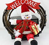Weihnachten Kranz 25 cm Weihnachtsschneemann Weihnachtsschmuck