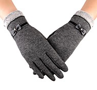 Touch Screen Gloves 4 Colors Fashion Women Outdoor Winter Warm Gloves Touch Screen Sport Ski Gloves Mittens