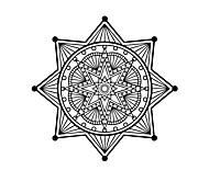 Mandala Flower Sticker Mandala Wall Stickers For Home Decor