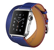 Hoco Latest 3 In 1 Package Double Tour Singe Tour Cuff Leather Band for Apple Watch 38mm 42mm