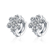 lureme Fine Jewelry Korean Fashion Charms Zircon Diamond Earrings