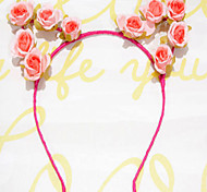 Cat Ear Headband Antlers Headband Rose Flower Headbands