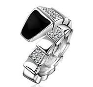 Jewelry Women Alloy Silver Ring