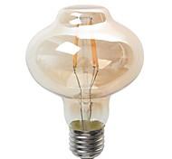 4W E26/E27 LED Kugelbirnen G80 4 COB 380 lm Warmes Weiß Dekorativ / Wasserdicht V 1 Stück