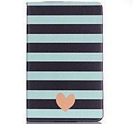 For Samsung Galaxy Tab E 9.6 Wallet Stripes Ripples PU Leather Hard Case Cover  Tab A 9.7 Tab A 10.1 (2016)