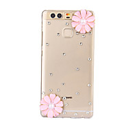 DIY Pink Sunflower Pattern PC Hard Case for Huawei P9 Plus LITE P8 LITE Honor 8 7 6 6Plus 5C 5X 4X 4C 4A Mate8 7