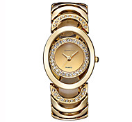 Women's Fashion watch women Imitation Diamond crystal bracelet watch ladies rose gold wrist watch